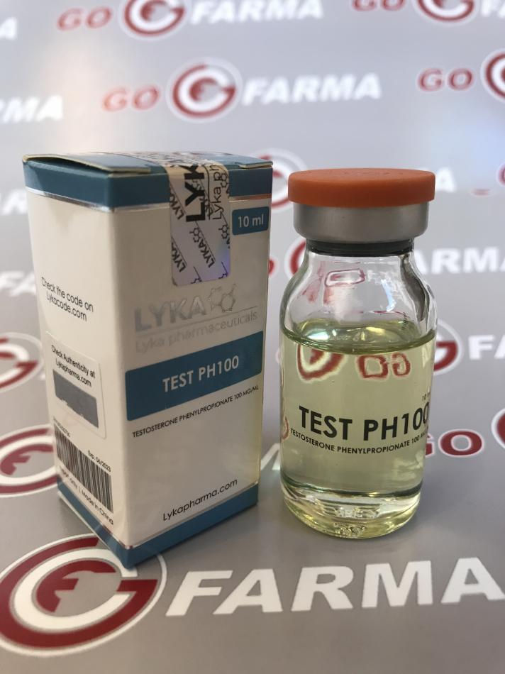 TEST PH100 LYKAPHARM 100mg/ml - ЦЕНА ЗА купить в России