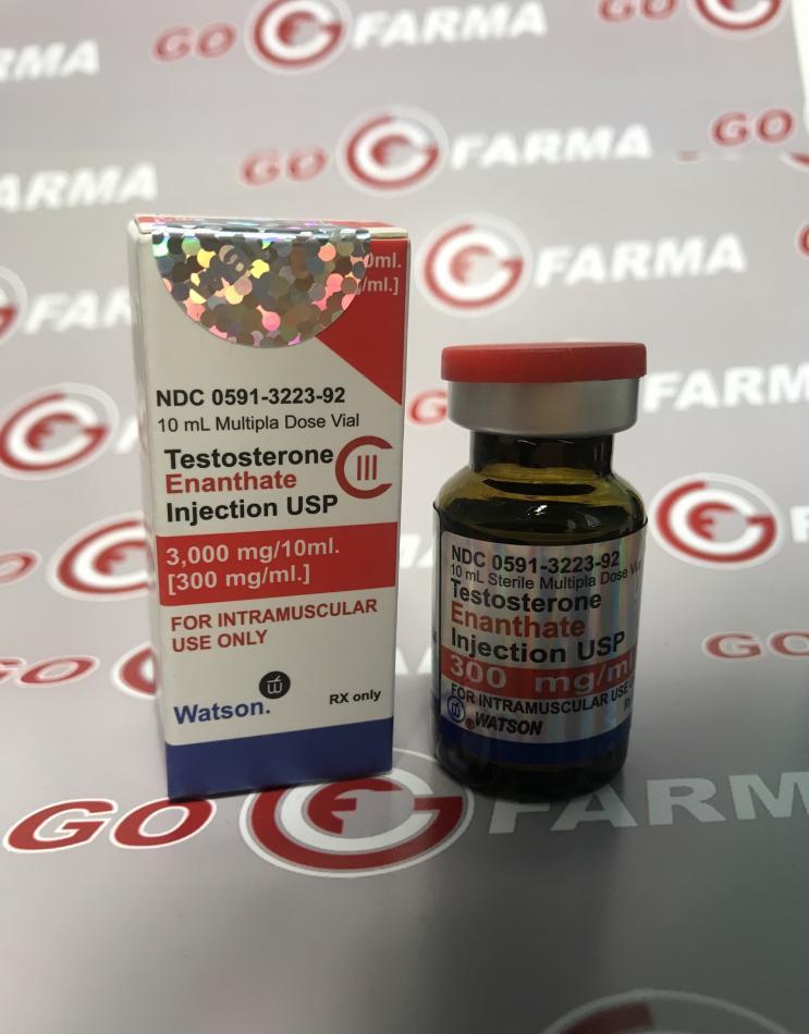 TESTOSTERONE ENANTHATE (тестостероне енантате)300MG/ML - ЦЕНА ЗА 10МЛ. купить в России