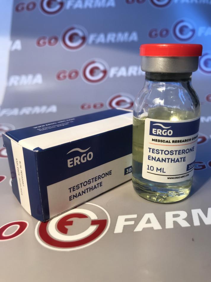 ERGO TESTOSTERONE PROPIONATE (эрго пропионат) 100MG/ML - ЦЕНА ЗА 10МЛ купить в России
