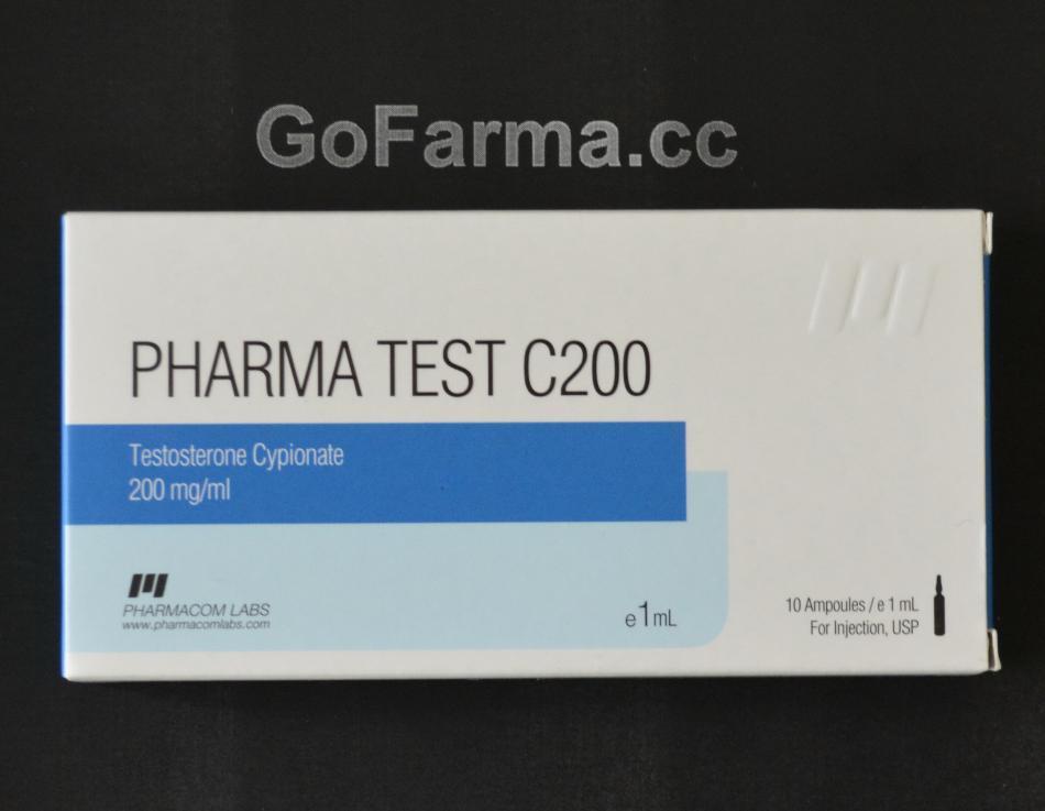 Pharma Test C200 (пфарма тест ц200), 200mg/ml - цена за 1 ампулу 1мл. купить в России