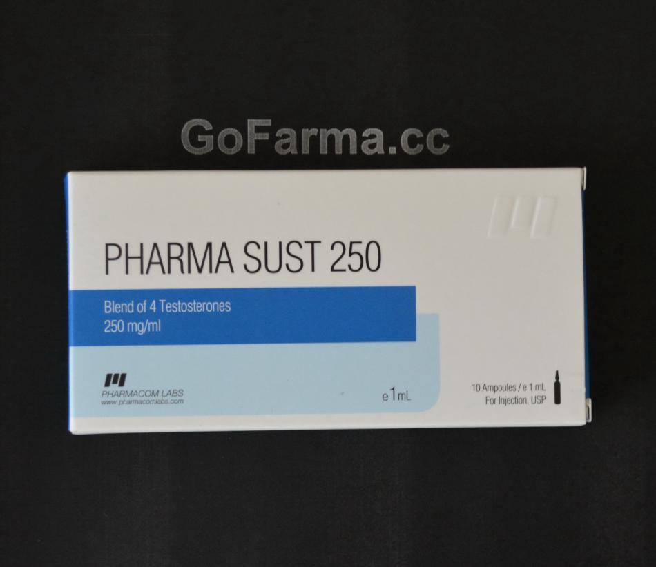PHARMA SUST 250 (пфарма суст 250), 250mg/ml - ЦЕНА ЗА 1 АМПУЛУ купить в России